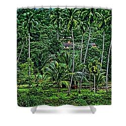 Jungle Life Shower Curtain by Steve Harrington