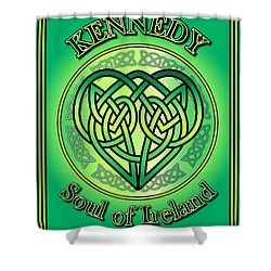 Kennedy Soul Of Ireland Shower Curtain