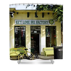 Key Lime Pie Shower Curtain