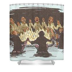 Kumbaya Shower Curtain