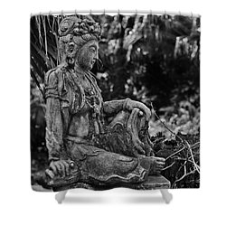Kwan Yin Shower Curtain