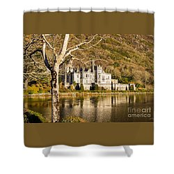 Kylemore Abbey In Winter Shower Curtain