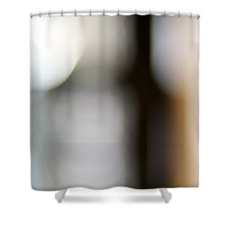 Shower Curtain featuring the photograph La Porte by Danica Radman