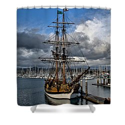 Shower Curtain featuring the photograph Lady Washington by Michael Gordon