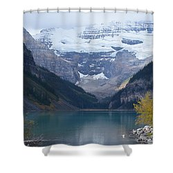 Lake Louise In Fall Shower Curtain