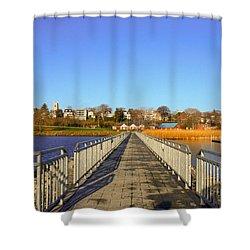 Lake Seneca Shower Curtain