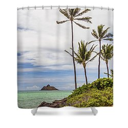 Lanikai 2 Shower Curtain