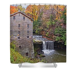Lantermans Mill Shower Curtain by Marcia Colelli