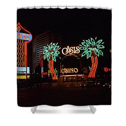 Las Vegas 1983 Shower Curtain by Frank Romeo