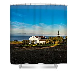 Light Of Warmth Shower Curtain