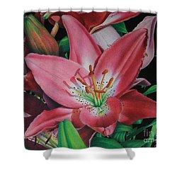 Lily's Garden Shower Curtain