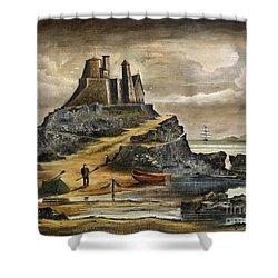 Lindisfarne 2 Shower Curtain