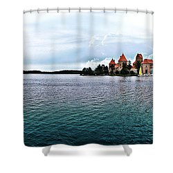 Lithuanian Castle Shower Curtain