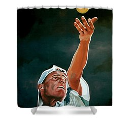 Lleyton Hewitt Shower Curtain
