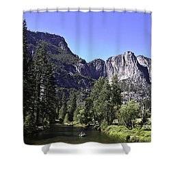 1 Lone Rafter Shower Curtain by Brian Williamson