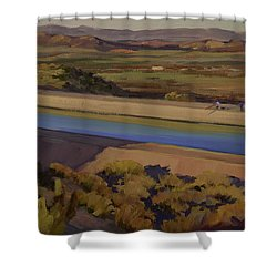 California Aqueduct Shower Curtain