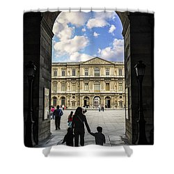 Louvre Shower Curtain by Elena Elisseeva