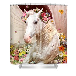 Love Shower Curtain by Kate Black