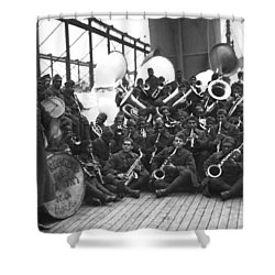 Lt. James Reese Europe's Band Shower Curtain