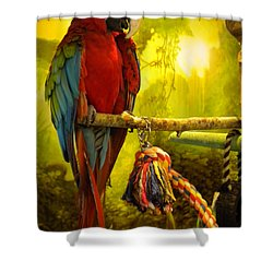 Lucky Look Shower Curtain by Colette V Hera  Guggenheim