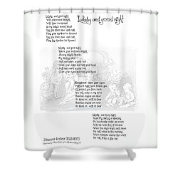 Lullaby And Good Night Shower Curtain