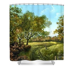 Luray Pasture Shower Curtain