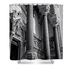 Lyon, France Shower Curtain