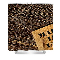 Made In Usa Shower Curtains Fine Art America