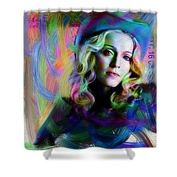 Madonna Shower Curtain by Unknown
