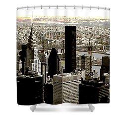 Manhattan Shower Curtain by RicardMN Photography