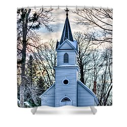 Maria Chapel Shower Curtain by Paul Freidlund