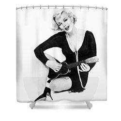 Marilyn Monroe (1926-1962) Shower Curtain by Granger