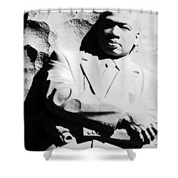 Shower Curtain featuring the photograph Martin Luther King Memorial by Cora Wandel