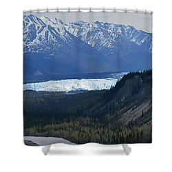 Matanuska Glacier Shower Curtain