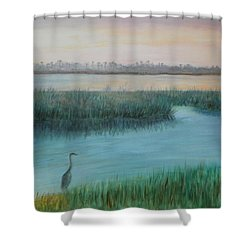 Matanzas River Morning Shower Curtain