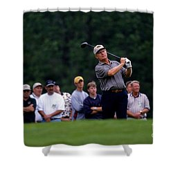 12w334 Jack Nicklaus At The Memorial Tournament Photo Shower Curtain