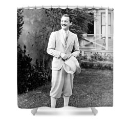 Men's Fashion, C1925 Shower Curtain by Granger