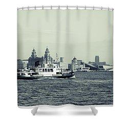 Mersey Ferry Shower Curtain