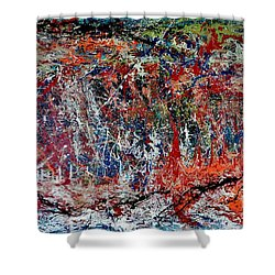 Nature Walk In The Yakima Delta Shower Curtain by Lisa Kaiser