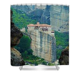 Meteora Shower Curtain