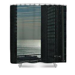 Michigan Shower Curtain by Joseph Yarbrough