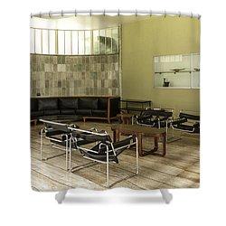 Midcentury Modern Interior Shower Curtain by Lynn Palmer