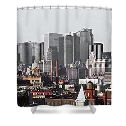 Midtown Manhattan 1978 Shower Curtain