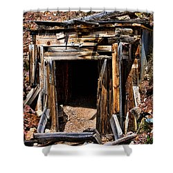 Midwest Mine Shaft Shower Curtain