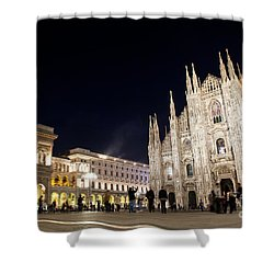 Milan Cathedral Vittorio Emanuele II Gallery Italy Shower Curtain