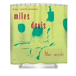 Miles Davis -  Blue Moods Shower Curtain