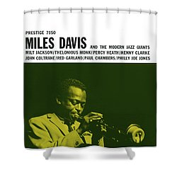 Miles Davis -  Miles Davis And The Modern Jazz Giants (prestige 7150) Shower Curtain
