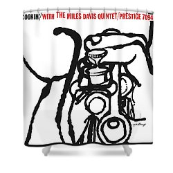 Miles Davis Quintet -  Cookin' With The Miles Davis Quintet Shower Curtain