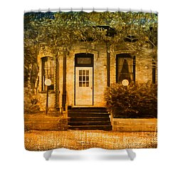 Montpelier Place Shower Curtain by Deborah Benoit