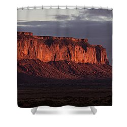 Monument Valley Sunrise Shower Curtain